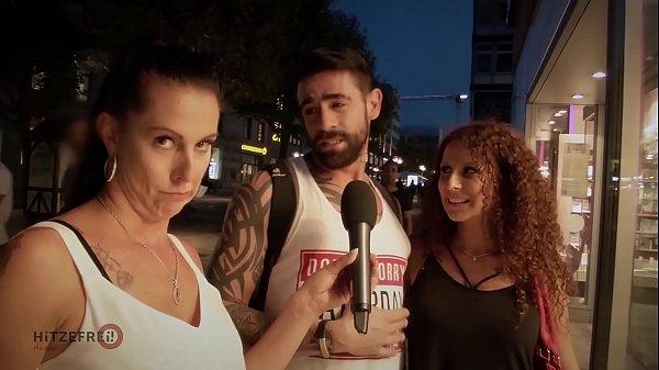 Entrevistando a PAreja Se Anima A Follar